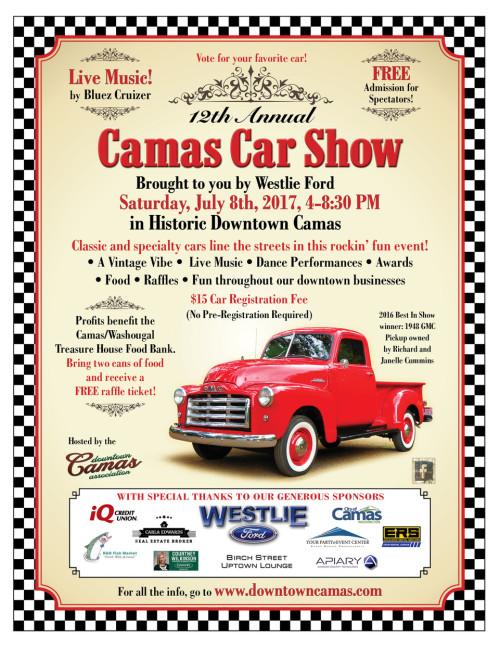 Camas Car Show